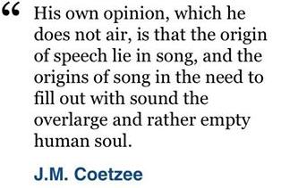 jm coetzee quote
