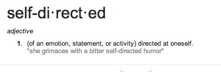 self directed