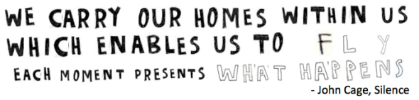 we carry our homes