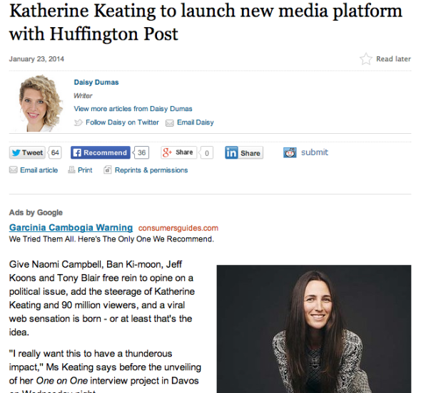 keating interview