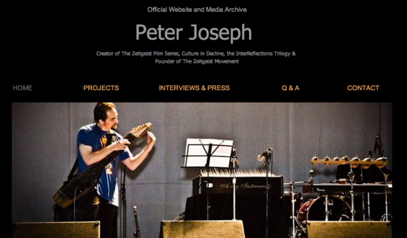 peter joseph site