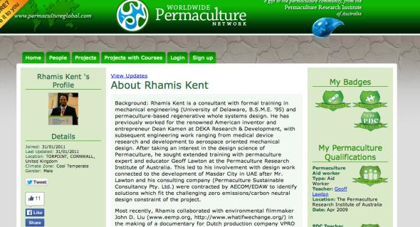rhamos on permaculture global