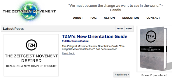 zeitgeist movement