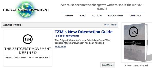zeitgeist movement