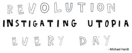 revolution instigating utopia