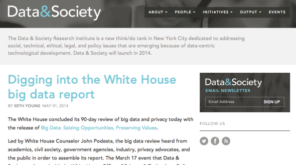 data & society