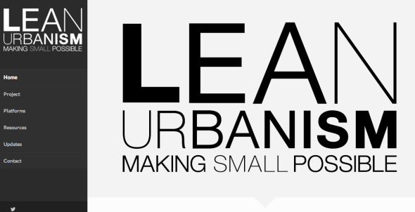 lean urbanism