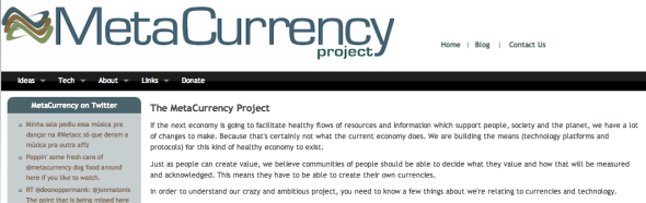 metacurrency project