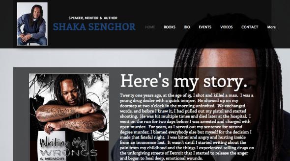 shaka senghor 's site