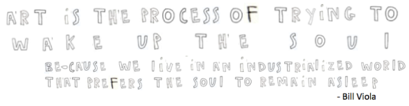 art is the process