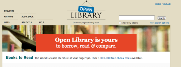 open library site