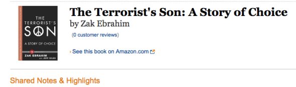 the terrorists son notes