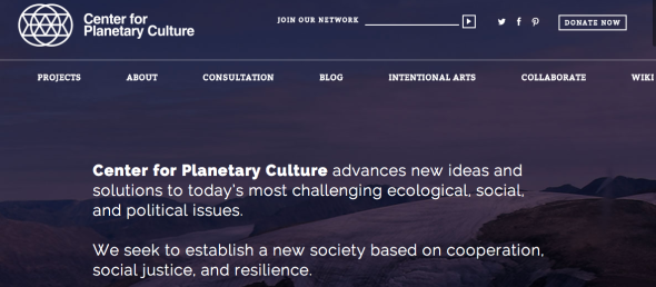 center for planetary culture
