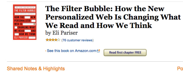 filter bubble notes