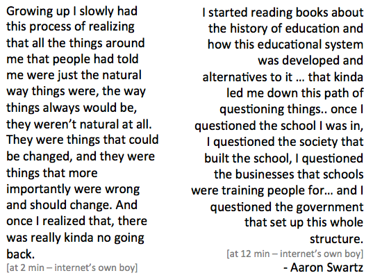 aaron longer quote on structure of ed