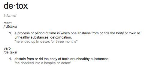 detox defn