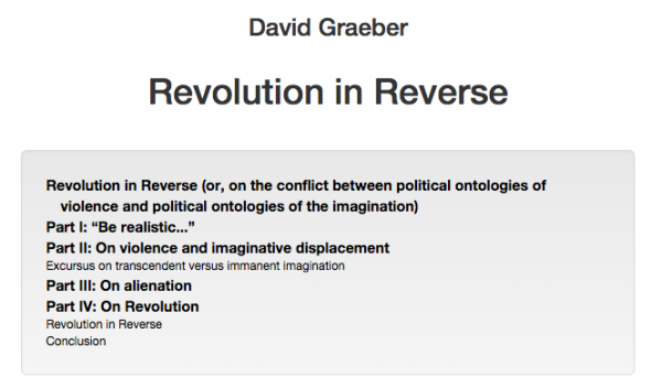 revolution in reverse