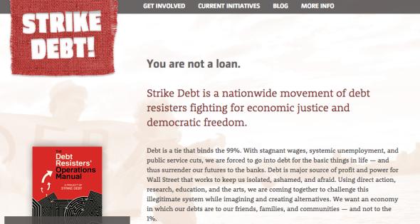 strike debt site