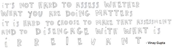 irrelvant quote vinay