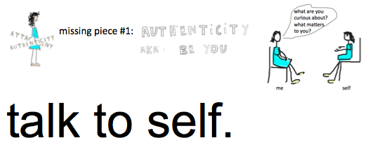 talk to self authenticity stilly