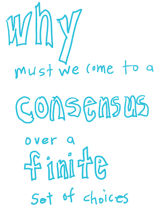 why consensus