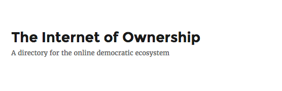 internet of ownership