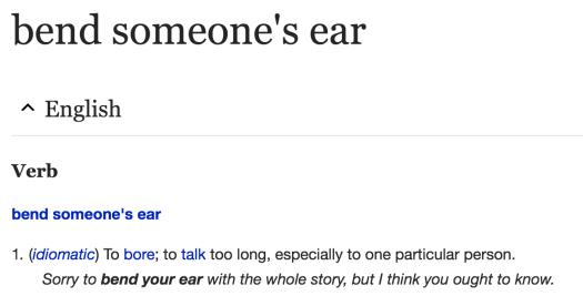 bend ear wiki
