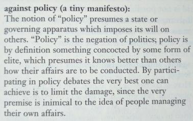 david-on-policy