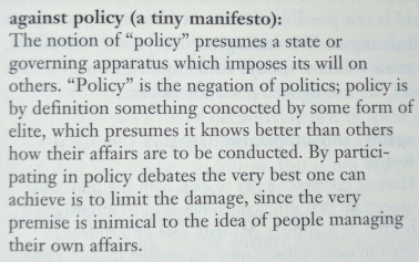 david-on-policy