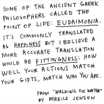 eudaimonia by jensen