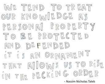 taleb knowledge