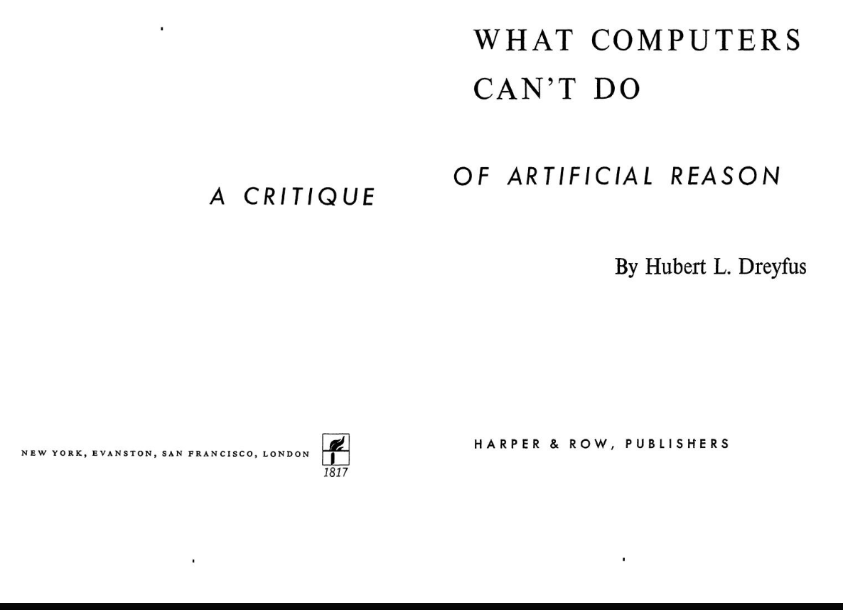what computers can't do